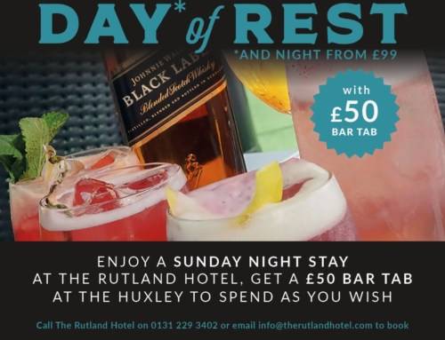 Day of Rest Bar Tab Package
