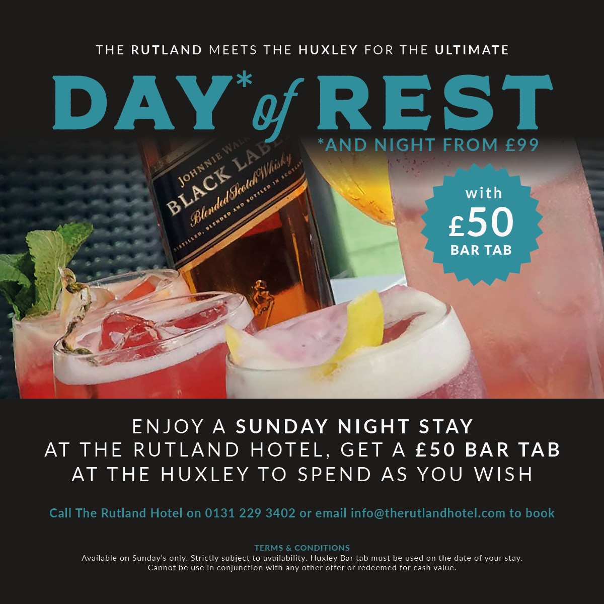 Rutland Hotel Day Of Rest Offer